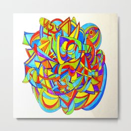 Abstract painting 000 Metal Print