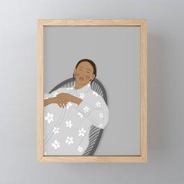 Sleep, Perchance Framed Mini Art Print