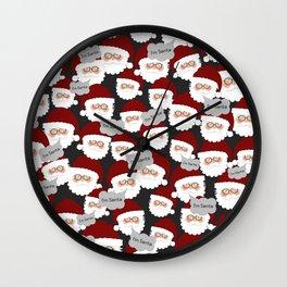 Who's the Real Santa? Wall Clock