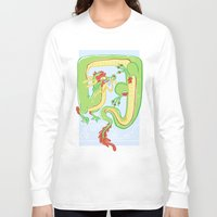 butt Long Sleeve T-shirts featuring Goofy Butt by hollypop