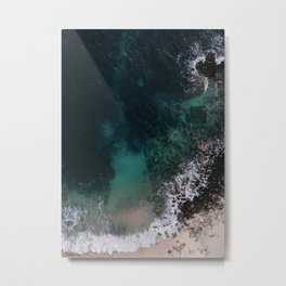 ocean blues Metal Print