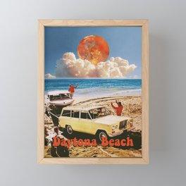 Daytona Beach Framed Mini Art Print