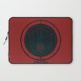 Dark Dahlia Laptop Sleeve