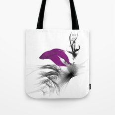 Fish never sleep Tote Bag