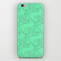 lions iPhone & iPod Skins featuring Lions by LIRO