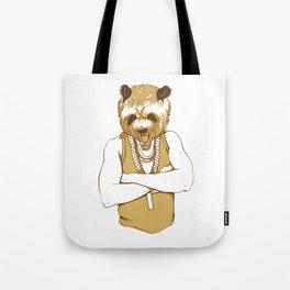Bear Man Tote Bag