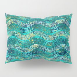 Greek Meander Pattern - Greek Key Ornament Pillow Sham