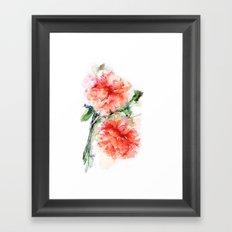 Flower of my Dreams Framed Art Print