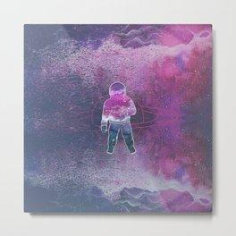 Cosmic Spaceman Metal Print