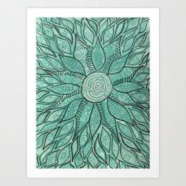 Green Energy Art Print