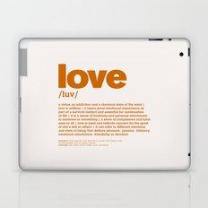 definition LLL - Love 8 Laptop & iPad Skin