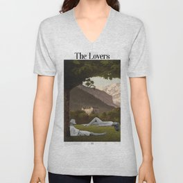 The Lovers Unisex V-Neck