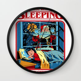 Retro Vintage Inspired T-Shirts and Apparel Merch: Steven Rhodes Official Merchandise Store Wall Clock