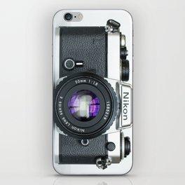 Vintage Nikon Camera iPhone Skin