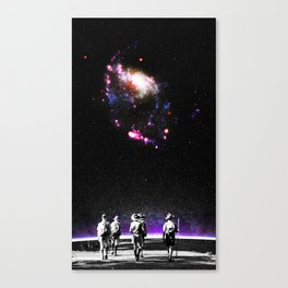 Explore The Unknown Canvas Print