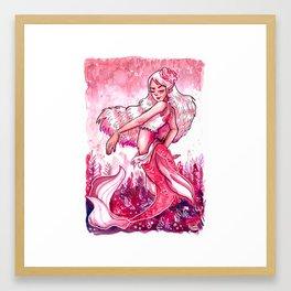 Rose Mermay Framed Art Print