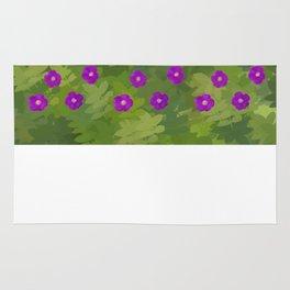 Flower Rosa Rugosa Rug
