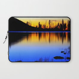 Silver ,Blue,and Gold.. Laptop Sleeve