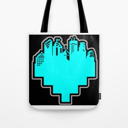 HeArt of the Cities Tote Bag