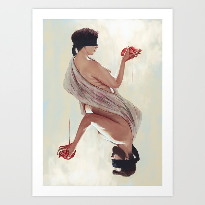 Discover the motif TWO HEARTS by Alexander Grahovsky as a print at TOPPOSTER