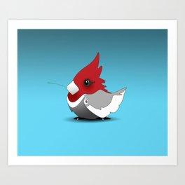 B~Cardinal Art Print