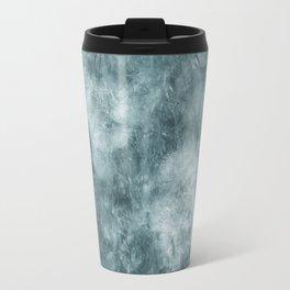 Blue thistle Travel Mug
