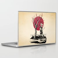 japanese Laptop & iPad Skins featuring Japanese student by Rafapasta