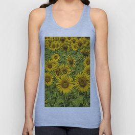 SUNFLOWERS 3 Unisex Tank Top