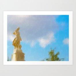Oakland Angel Art Print
