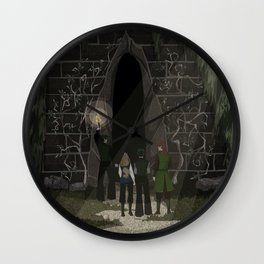 Witch Hunters Part Two Wall Clock