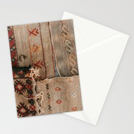 Maroccan rugs | Travel photo print of authentic Morocco rugs Stationery Cards