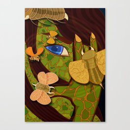 Morbid (04) Canvas Print
