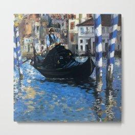"Édouard Manet ""The grand canal of Venice (Blue Venice)"" Metal Print"