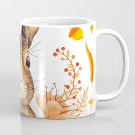 Autumn Rabbit Coffee Mug