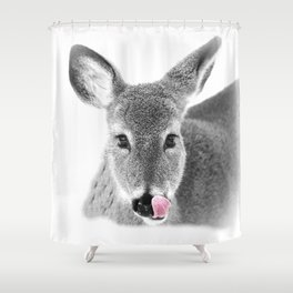 DEER LICK Shower Curtain