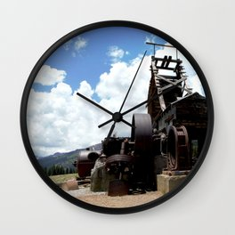 View from the Longfellow Mine, at 11,080 feet Wall Clock