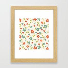 Buttercups Framed Art Print