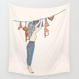 Girl Next Door Wall Tapestry