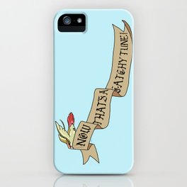 Now That's A Catchy Tune! iPhone Case