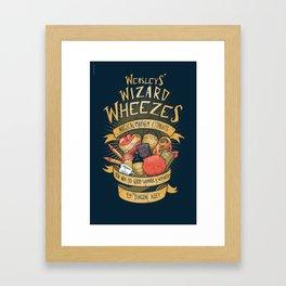 Wheezes Framed Art Print