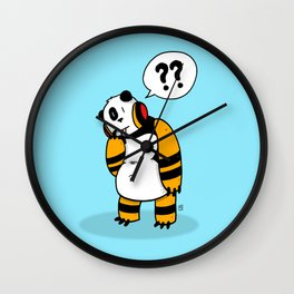 Bear :: The Question Wall Clock