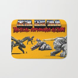 Pixel Art Metal Gear Solid Bath Mat
