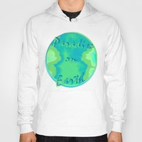 paradise Hoodies featuring Paradise by Christy Leigh