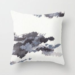 clouds_november Throw Pillow
