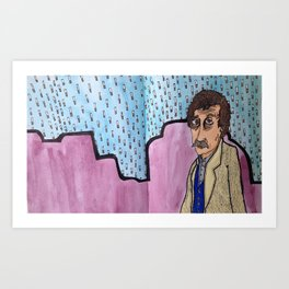 Vonnegut and the Palm Mall Blues Art Print