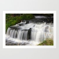 the old mill stream Art Print