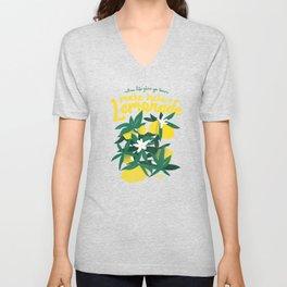 Kickass Lemonade Unisex V-Neck