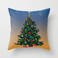 Make A Holiday Wish Throw Pillow