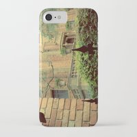 haunted mansion iPhone & iPod Cases featuring Haunted Mansion by Lea Bostwick