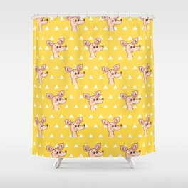 Sniff Shower Curtain